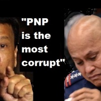 DUTERTE ADMITS CORRUPTION IN PHILIPPINE POLICE